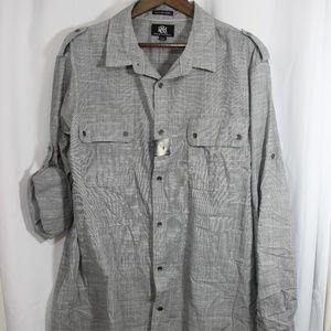 Rock & Republic XXL Button up shirt NWT